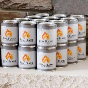 24 Cans, Fireplace Gel Cans, Indoor/Outdoor Gel Fuel, Alcohol Gel Fuel