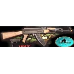 P1098 AK47 Airsoft Assault Rifle + Airsoft Pistol Replica