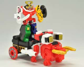 One set of BANDAI TINY Power Rangers Megazord: SHINKENGER SAMURAI