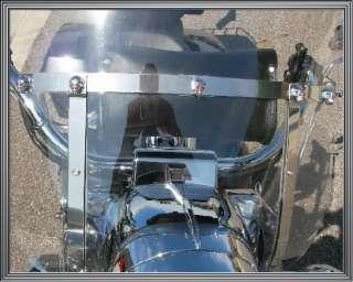 Chrome Gem Skull Motorcycle Windshield Custom Bolt Kit for Harley