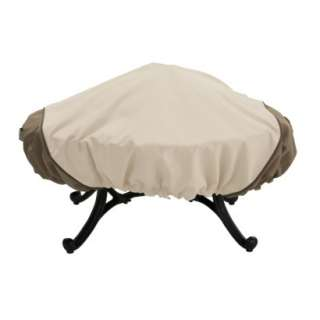 Classic Accessories Veranda Fire Pit Cover Square (fits up to 40 w