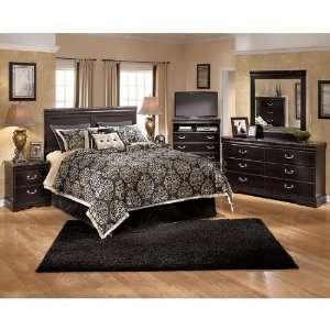 King Bedroom Furniture Sets on Ashley Furniture Esmarelda Panel Headboard Bedroom Set  King  B179 58