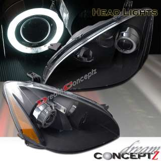 2002 2004 NISSAN ALTIMA CCFL HALO PROJECTOR HEADLIGHTS