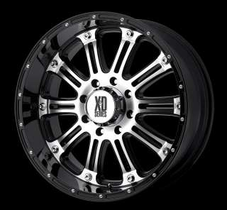 20 Inch Black RIMS 8 LUG Wheel Chevy Dodge GMC Truck