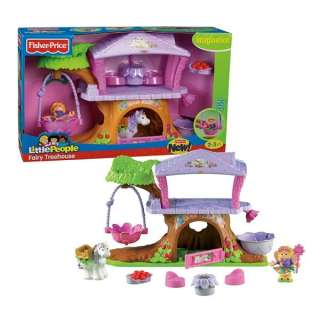 Price Little People Fairy Treehouse Tree House 027084751451