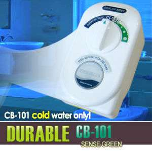SENSE CB 101 BATHROOM BIDET Toilet Seat Attach SHATTAF