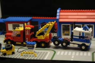 Lego Big Rig Truck Stop #6393 * 100% Complete * Great Lego Town Set