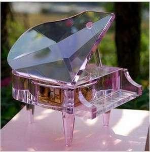 .crystal music box ,birthday gift,weding gift,Valentines Day gift