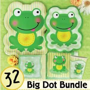 Froggy Frog Birthday Party Supplies & Ideas   32 Big Dot