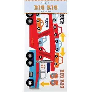 Big Rig Truck Wall Stickers