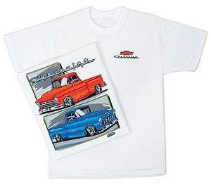 Chevy Trucks (55 57) Pickups Classic Chevrolet Tee Shirt