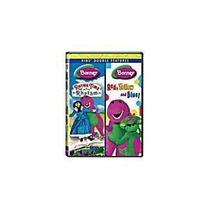 Kids Double Feature Barney Rhyme Time Rhythm & Barney Red, Yellow, and