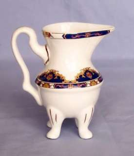 Beautiful GNA Fine Porcelain China Gilt Footed Pitcher