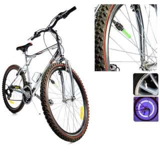 Bike Bicycle Flash LED Tire Wheel Spoke Colorful Light