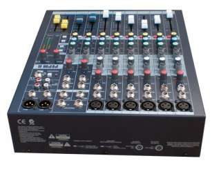 Pyle PEMP6 6 Channel Professional Stereo Console Mixer
