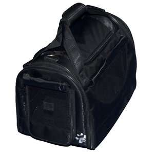 Pet Gear World Traveler Tote Bag Pet Carrier in Black Diamond Dogs