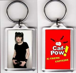 NCIS Caf Pow and Abby Sciuto Double Sided Key Chain