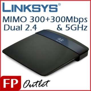 Linksys E3200 Dual Band Gigabit USB Wireless N Router
