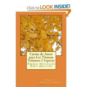 Cartas de Amor para Lee Thomas Volumen IEsperar Poemas