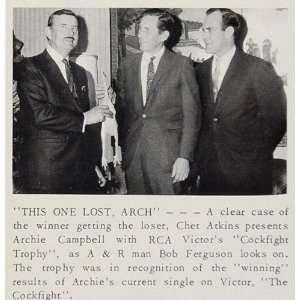 1967 Print Chet Atkins Archie Campbell Bob Ferguson
