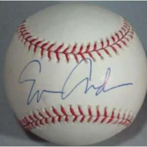 ERIN ANDREWS signed OML baseball *ESPN* PROOF W/COA 1A
