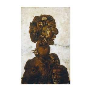 Four Elements   Earth by Giuseppe Arcimboldo. size 18 inches width by