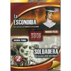 La Escondida / La Soldadera MARIA FELIX / SILVIA PINAL