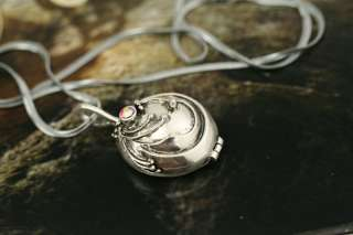Vampire Diaries Elena Vervain Necklace antique silver plated