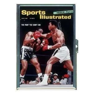 Muhammad Ali Sonny Liston 60s Boxing ID Holder, Cigarette