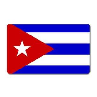 Flag of Cuba Cuban Havana Large Fridge Magnet