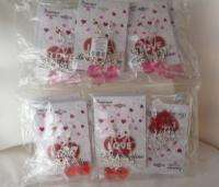 Cute Lot of 12 Girls Jewelry Red Pink Heart Valentine Day Dangle