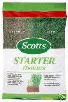SCOTTS 14000 SF LAWN GRASS SEED STARTER FERTILIZER 2705
