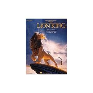 Lion King Easy Piano Book Musical Instruments