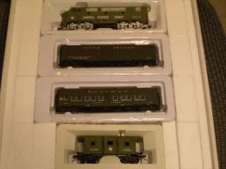 HO US ARMY MILITARY WW II TRAIN SET WALTHERS #2011 3