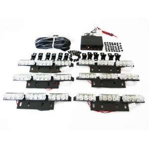 54 LED Bulb Warning Emergency Vehicle Car Truck Boat Strobe Lights