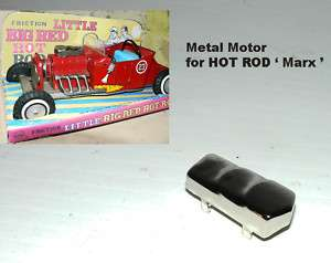 HOT ROD CHROME MOTOR ( Little big hot rod ) 7 inch car
