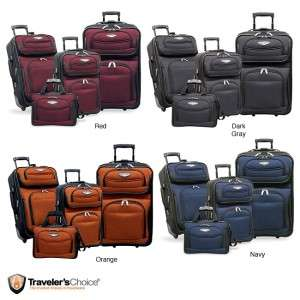 Travels Choice Amsterdam 4 piece Luggage Set NEW