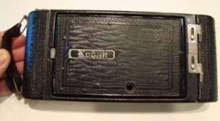 From an estate, a vintage Kodak 1A folding autographic camera, uses