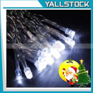 White 30 LED Battery Outdoor String Light Wedding Party
