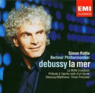 Debussy: La Mer / Matthews: Three Orchestrated Pieces