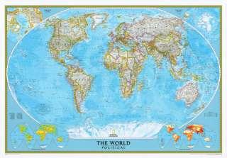 Rand McNally United States USA US Large Wall Map Poster
