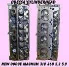 NEW DODGE JEEP MAGNUM 5.2 5.9 318 360 CYLINDER HEADS