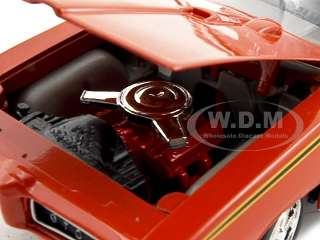 24 scale diecast model of 1969 Pontiac GTO Judge die cast car model