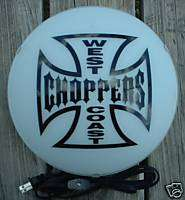 WEST COAST CHOPPERS JESSE JAMES SIGN MOTORCYCLE BIKER