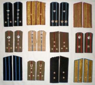 Soviet Military Army Uniform Shoulder Strap Navy Officer Surplus