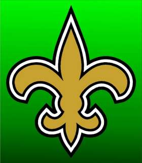 New Orleans Saints 14 Auto Window Stickers Decals NFL