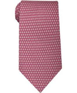 Salvatore Ferragamo pink sun print Miraggio silk tie   up to
