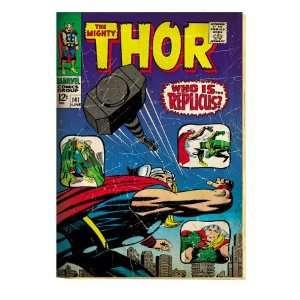 Marvel Comics Retro The Mighty Thor Comic Book Cover #141