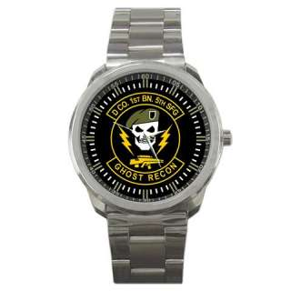 Ghost Recon Seal Patch Logo Special Forces Group Watch