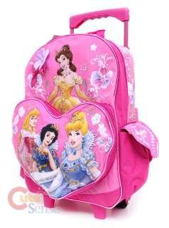 Disney Princess Roller School Backpack/BagPink 16 L